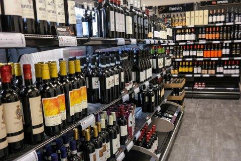SKAL ENDRE INNHOLDET: Vinmonopolet i Hammerfest.
