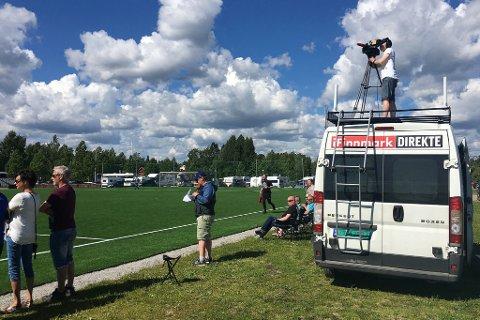 SATSER PÅ LOKAL FOTBALL: iFinnmark sender i 2018 over 110 lokale fotballkamper på seniornivå. I tillegg sendes over 350 kamper fra aldersbestemte turneringer, slik som Piteå Summer Games i Sverige (bildet).