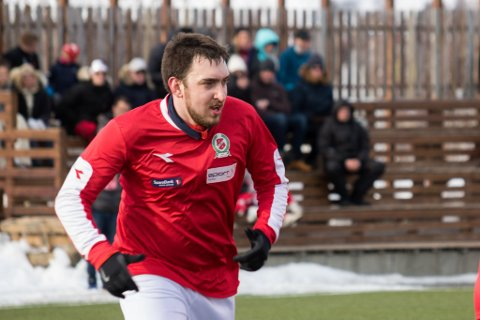FORSVARSPILLER: Milos Vucenovic fortsetter som midtsopper for Norild.