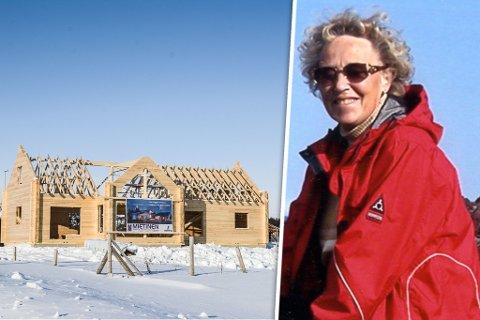 FLYTTEKLAR: Inger Stock bygger nytt hus i hjembyen Vadsø som hun har lengtet tilbake til en god stund.