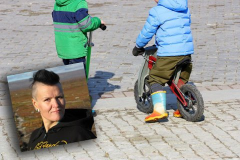 FARLIG: Renate Lillevik advarer om farlig adferd blant foreldre i trafikken.