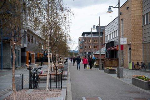 NÆRINGSSENTRUM: Fire av ukens tolv nye foretak ble startet i FInnmarks største by Alta.