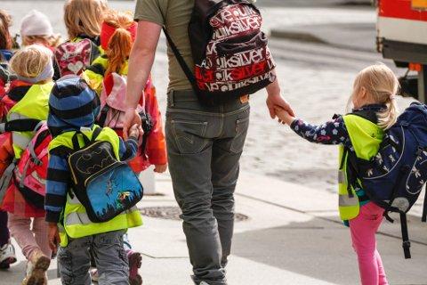 VIL BEHOLDE PRIVATE: Frp og Roy Steffensen stiller seg ikke bak SV og Rødts ønske om å gi kommunene forkjøpsrett ved salg av barnehager. Illustrasjon.