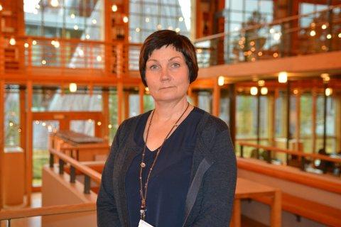 FÅR KRITIKK: Sametingspresident Aili Keskitalo.