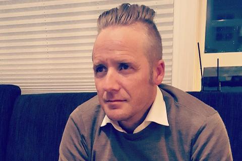 NY LEDER: Brynjar Strand Rasmussen (41) er ansatt som ny leder for Scene Finnmark.