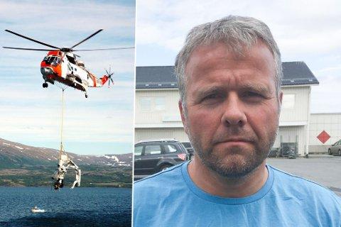 PREGET KLUBBLEDER: Ola Mikalsen er leder for Lakselv mikroflyklubb. Han sier hele klubben er preget etter å ha mistet medlemmet Morten Ruud i den tragiske ulykken i Finland lørdag.