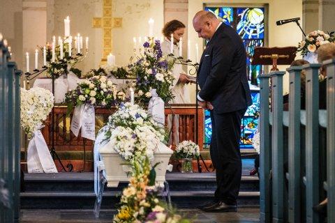 Håvard Pedersen (18) ble gravlagt torsdag klokken 11:00.