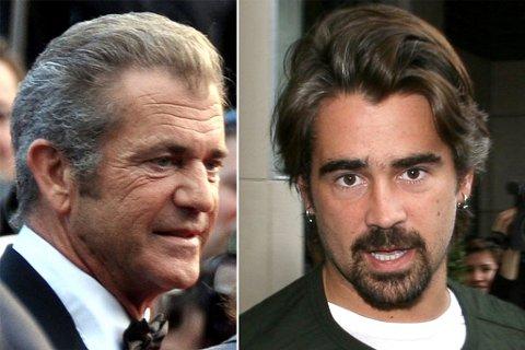 SUPERSTJERNER: Mel Gibson og Colin Farrell på rollelisten til Tommy Wirkola-film.
