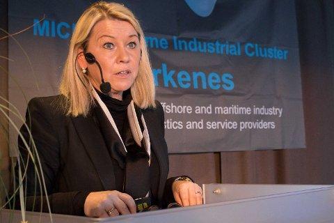 FORTSETTER REFORMEN: Kommunalminister Monica Mæland legger til grunn at også Finnmark er klar til å starte arbeidet med sammenslåingen.