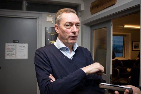 Frank Bakke-Jensen på Høybuktmoen