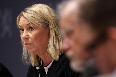 KLARER IKKE FLERE: Monica Mæland mener Finnmark allerede sliter med de oppgavene fylket har i dag.