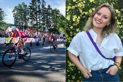 OMSTRIDT: Under direktesendingen av Arctic Race var TV2s kommentator tydelig negativ til gruveplanene i Kvalsund. Matilde Corneliussen Løvvik fra Natut og Ungdom støtter uttalelsene. Hun og varsler demonstrasjoner og sivil ulydighet hvis Nussir-planene blir realisert.