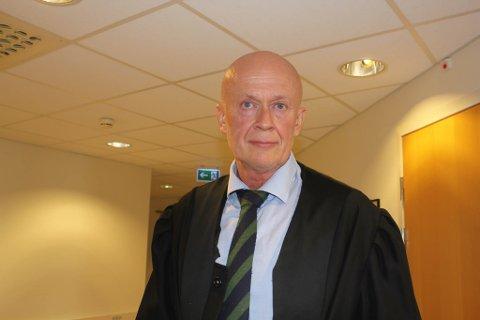 Arild Holden er forsvarer til den tiltalte mannen.