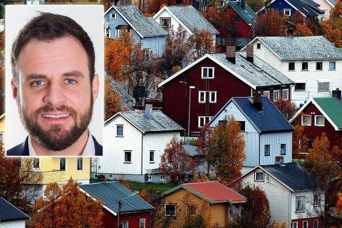 FIBERSATSING: Hammerfest kan få nytt fibertilbud om mange nok signerer seg på.