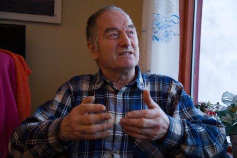 IVRIG: Steinar Magnussen blir ivrig når han snakker om naturen og har gjennom et langt liv gitt et bidrag for å opprettholde balansen i naturen.