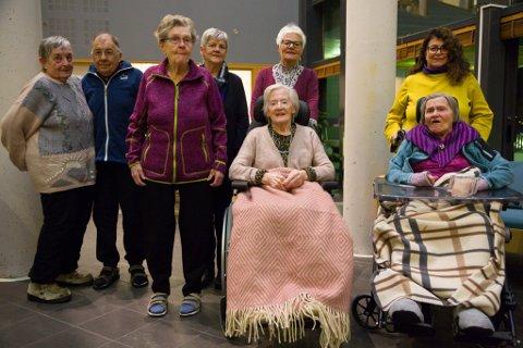 OPPROP: De fire pårørende Ann-May Emanuelsen, Randi Sandnes, Vivian Pettersen og Kari Elisabeth Gabrielsen står på for Hilmar, Tordis, Ruth og Arnhild.