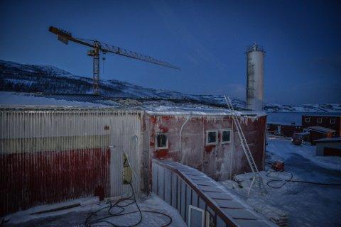 KREVDE ET MENNESKELIV: Brannen i smoltanlegget i Friarfjord i Lebesby kommune var svært kraftig.