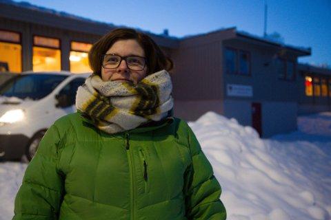 STENGT: Anne Berg Pedersen er samarbeidsutvalgets leder ved Kirkenes barnehage.