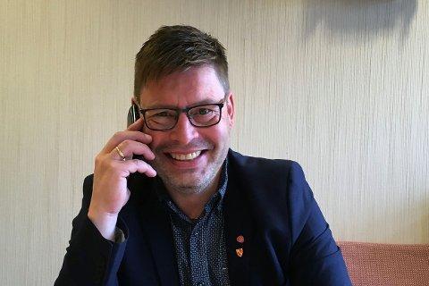 NYVALGT: Bernth R. Sjursen er Måsøys nye ordfører.
