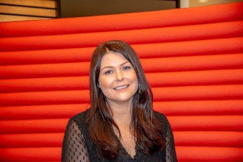 SKRIBENT: Hjerteskribent Linda Tangen er fra Nyvoll.