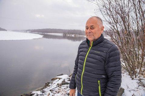 MANGE TURER:  Det ble mange turer til «nullpunktet» i Stilla for Svein Suhr, som i lag med resten av gjengen i folkeaksjonen holdt stand der stort sett hele tiden.