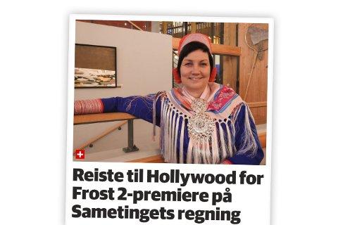KRISTISK: Hvorfor velger iFinnmark å konstruere en negativ vinkling på det som er bredt ansett som en samisk gladsak, spør Runar Myrnes Balto.