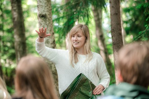 MER UTE: De nye lærerplanene kunne nesten ikke vært mer tydelig på at naturen skal brukes som læringsarena.