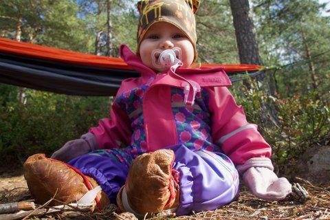Runa har to foreldre fra Finnmark, men kommer til å lære seg oslodialekt.