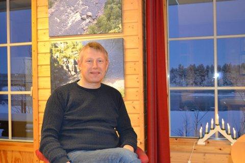 DAGLIG LEDER: Tor-Erland Nilsen er daglig leder i Alta Laksefiskeri Interessentskap.