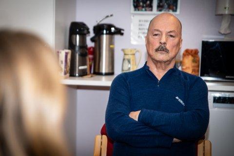 MELDER OM KOLONNE: Torkjell Johnsen, byggleder i Statens Vegvesen