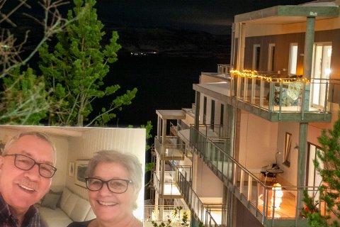 GAMMELHUSET: - For 27 år siden kjøpte vi huset i Sandfallveien for å være nært Finnmarkshallen, sier Per Hindenes og Elisabeth Kaspara Olsen. Snart flytter de hit.
