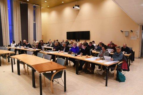 SAMLET: Kommunestyret i Alta  samlet for siste gang i 2019.