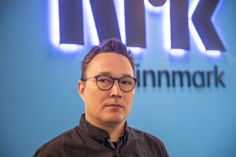 BYTTER JOBB: Robin Mortensen fortsetter ikke som distriksredaktør for NRK Finnmark, men blir ikke arbeidsledig av den grunn. Han går til en annen lederstilling i NRK.