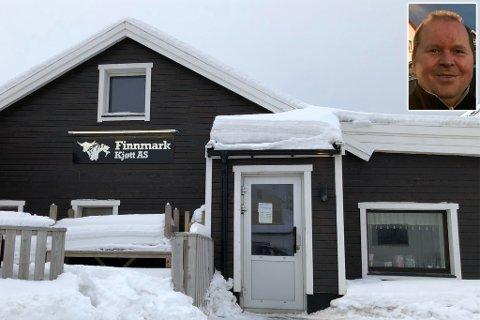KJØLIG OVERRASKELSE: Leif-Jørgen Mienna fant vindu knust og iskaldt lokale torsdag.