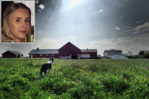 UNG SAUEBONDE: Etter nyttår, tok Sofie(21) over gården å ble sauebonde.