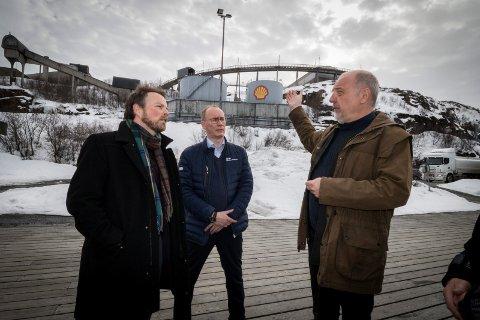 Torbjørn Røe Isaksen og Rune Rafaelsen.