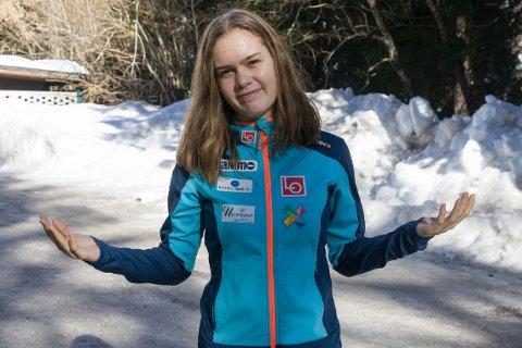 MÅTTE FLYTTE: Anna Odine Strøm (20) og familien flyttet fra Alta til Raufoss for seks år siden, fordi treningshverdagen i Alta ikke var god nok.