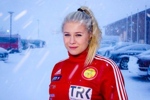 FÅR ØKONOMISK HJELP: Signe Marie Fidje Store (23) får hjelp av folket til å nå OL-drømmen.