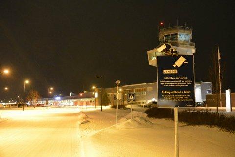 STENGT: Alta lufthavn.