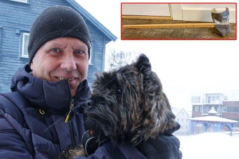 GODE KOMPISER: Pål Blix-Johansen med hunden Otto, som er med han overalt.