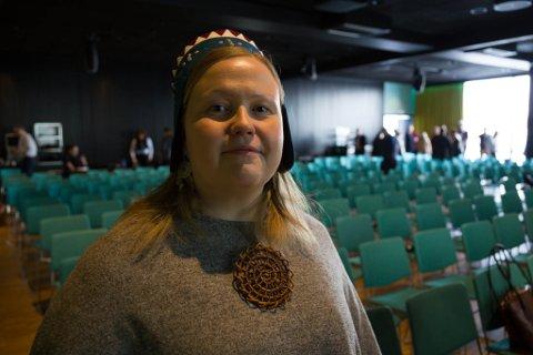 SAMERETTIGHETER: Jernbaneprosjektet er viktig for det finske Sametinget, sier president Tiina Sanila Aikio.