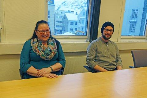 BEKREFTET SAMME DAG : - Vi får inn friske penger, sier Helene Walsø-Kanstad, som fikk det bekreftet samme dag som rettsmøtet. Sønnen Bjørn møtte sammen med henne i Hammerfest tingrett.