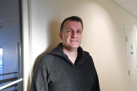 SATSER PÅ KJERNEVIRKSOMHETEN: Sigve Gusdal i Rask AS vil tilbake til kjernevirksomheten, som er innhenting av bedriftsavfall.