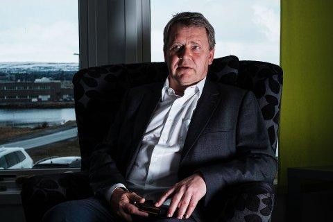 ETABLERER SELSKAP: Varanger kraft etablerer Varanger KraftHydrogen, som skal jobbe med hydrogensatsningen til selskapet. Terje Skansen er administrerende direktør i Varanger Kraft.