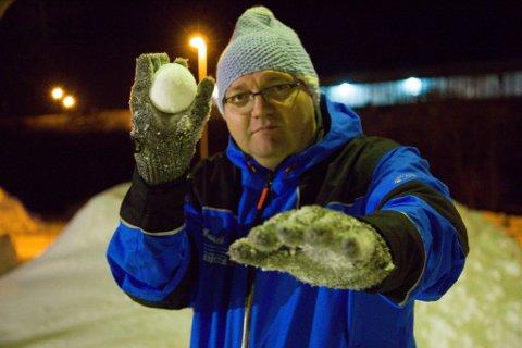 YUKIODDS: Harald Nilsen deltar i årets Yukigassen for niende år på rad. I år har han også gitt spillselskapet Coolbet gode råd til odds for snøballkonkurransen.