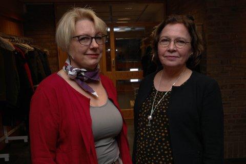 HÅP FOR 2019: Regionvegsjef Turid Stubø Johnsen og avdelingsdirektør Bjørg-Anita Joki i Statens vegvesen opplyser at de er i dialog med kjøreskolene i Vadsø om MC-oppkjøring i 2019.