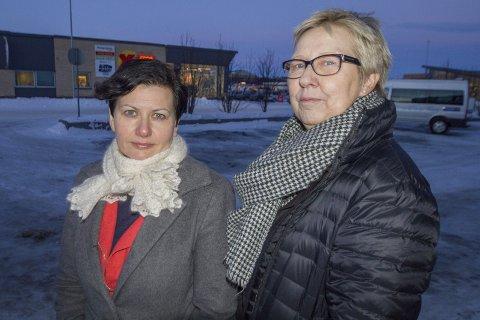ALLTID ENIGE: Ap-ordførerne Helga Pedersen og Wenche Pedersen har helt til nå vært enige i alt som handler om sentralisering. Men nå er de på kollisjonskurs etter at Tana kommunestyre har gjort et vedtak som kan ramme Vadsø.