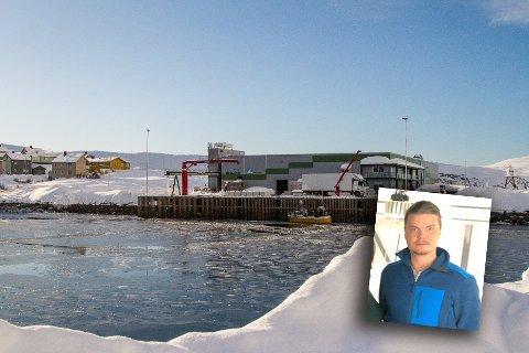 NY LEDER: Kristoffer Pedersen er ny daglig leder ved Coast Kjøllefjord AS.