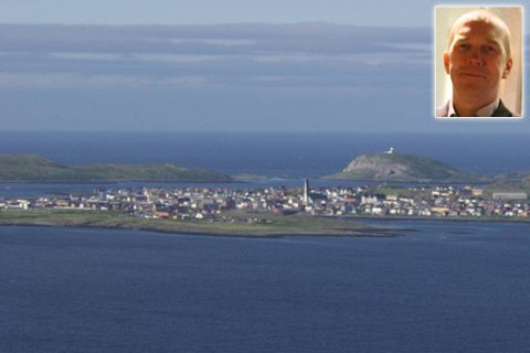 UROLIG STEMNING: Innbyggerne på øya er ikke vant til tyverier og innbrudd, ifølge rådmann Hallgeir Sørnes (innfelt).