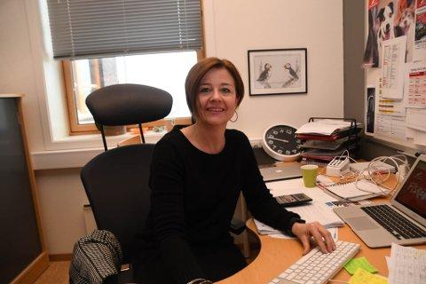 LEDER: Svanhild Pedersen er daglig leder i Finnmarksløpet.